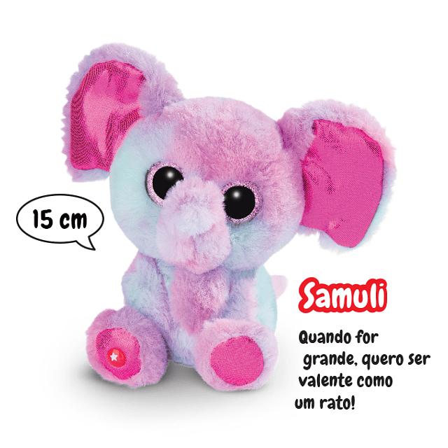 Elephant Samuli, Plush 15cm