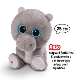 Hipopótamo Anso, Peluche de 25cm
