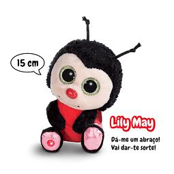 Joaninha Lily May, Peluche de 15cm