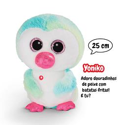 Pinguim Yoniko, Peluche de 25cm