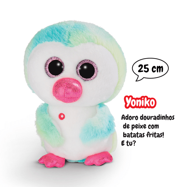 Yoniko Penguin, 25cm Teddy