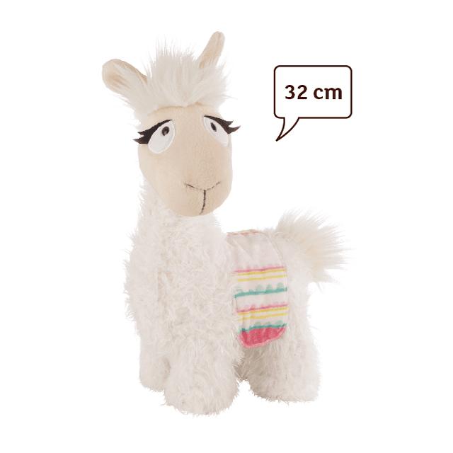 Lama Dália, Peluche 32cm