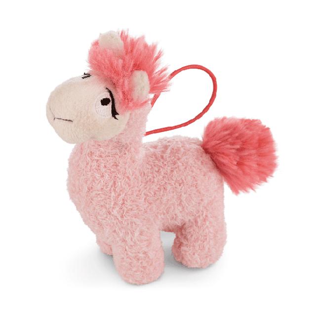 Barro rosado, cordón de felpa de 11 cm