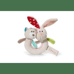 Teddy Ring Rabbit Tilli and Bear Grifos
