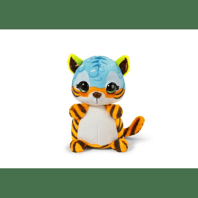 "Tigre ""Crazy"", Peluche de 16cm"