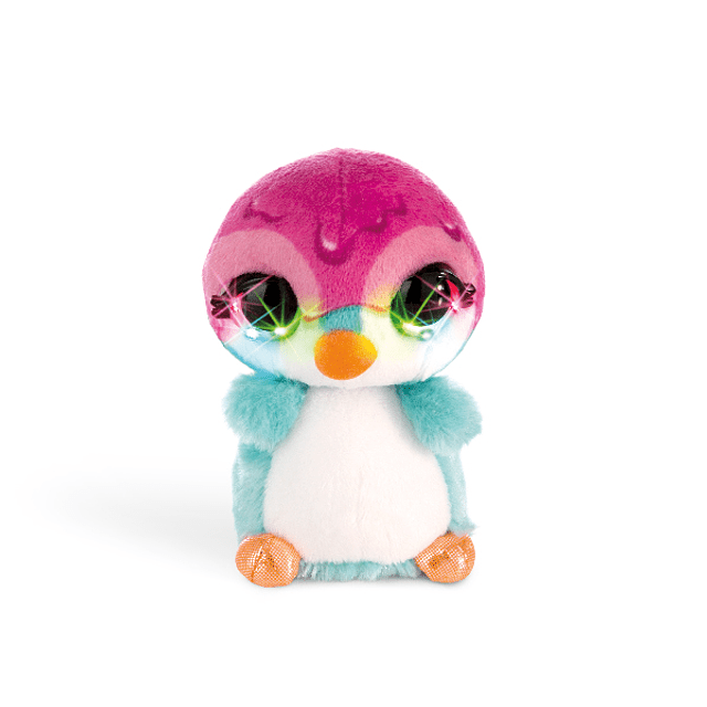"""Deezy Penguin """"Crazy"""", peluche de 12 cm"""