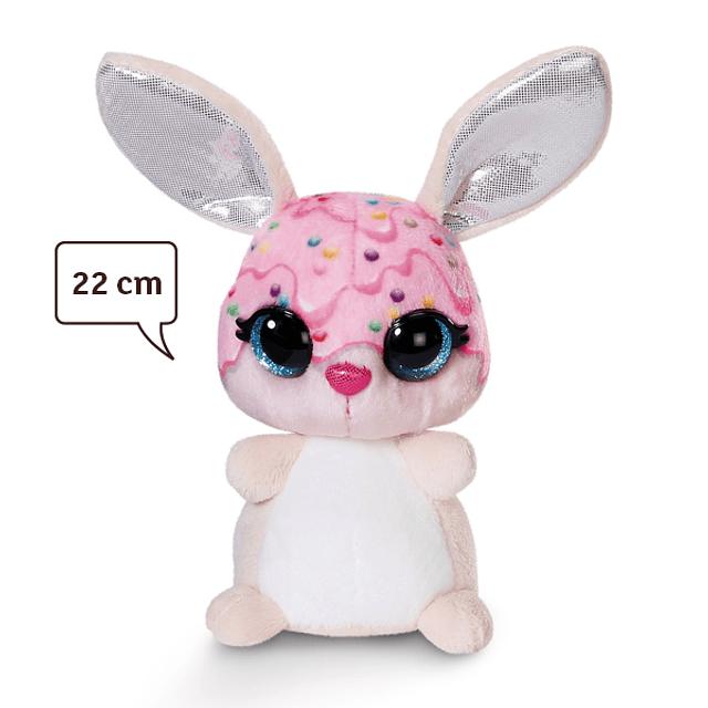 """Conejo """"Rainbow Nuggets"""", peluche de 22 cm"""