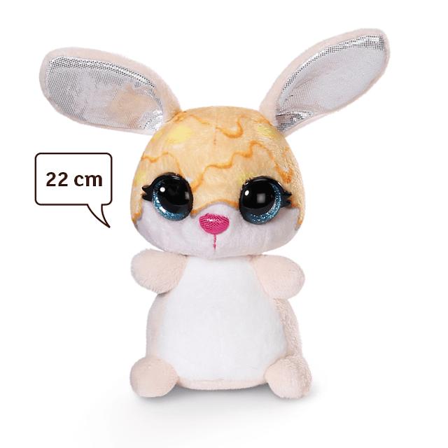 """Conejo """"Helado de Mango"""", Peluche 22cm"""