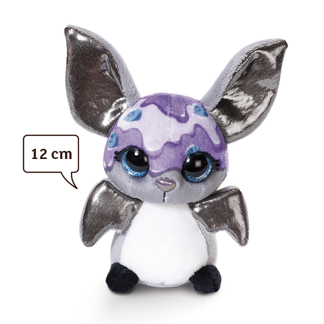"""Morcego """"Iogurte de Mirtilo"""", Peluche de 12cm"""