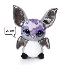 """Morcego """"Iogurte de Mirtilo"""", Peluche de 22cm"""