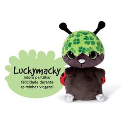 Luckymacky Ladybug, peluche de 16 cm
