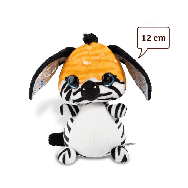 Zebra Ijona, Peluche de 12cm