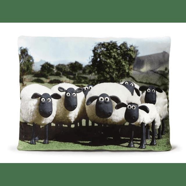 Almofada Rectangular Rebanho de Ovelhas
