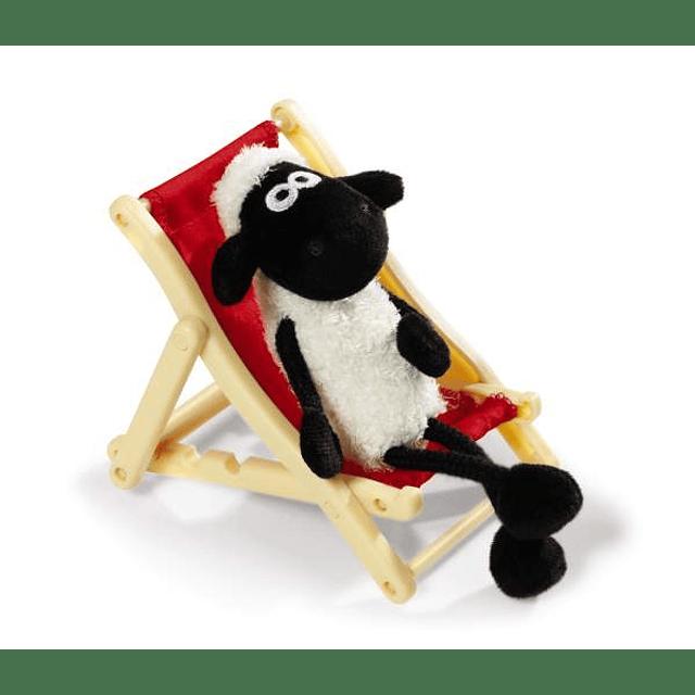 Shaun the Sheep in a Lounge Chair, 12cm Plush
