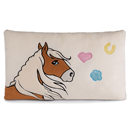 Almofada Retangular Cavalo Haflinger Leotie
