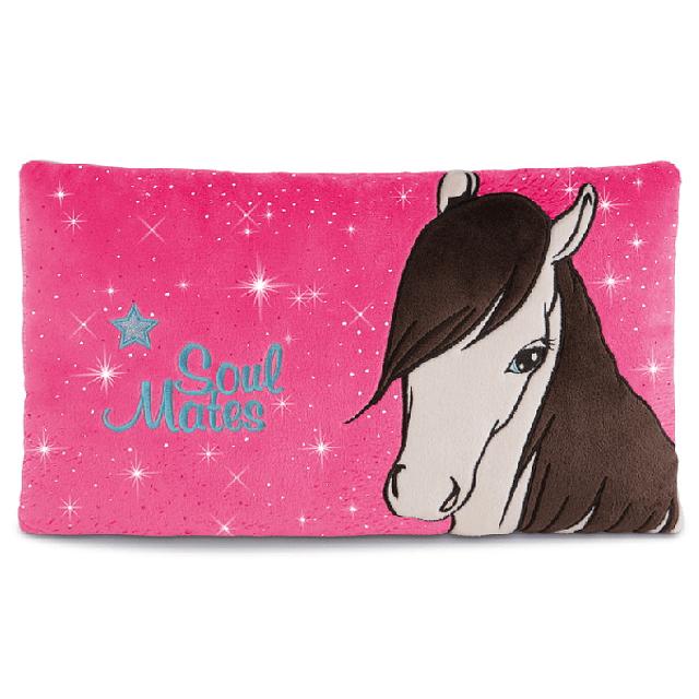 Ayeta Mustang Horse Rectangular Cushion