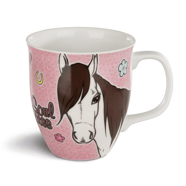 Taza Rosa, Mustang