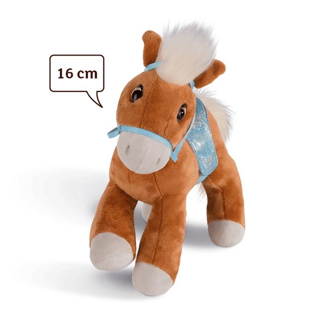 Haflinger Leotie Horse, peluche de 16 cm
