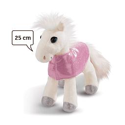 Cavalo Mustang Branco, Peluche de 25cm