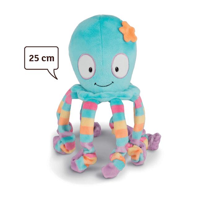 Curly Octopus, 25cm Teddy