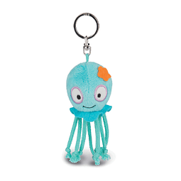 Curly Octopus Key Chain, 10cm