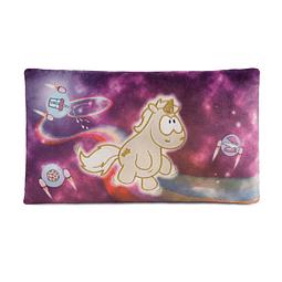 Cojín rectangular Falling Star Unicorn