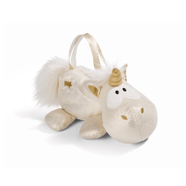 Bolso de mano con figura de unicornio Falling Star