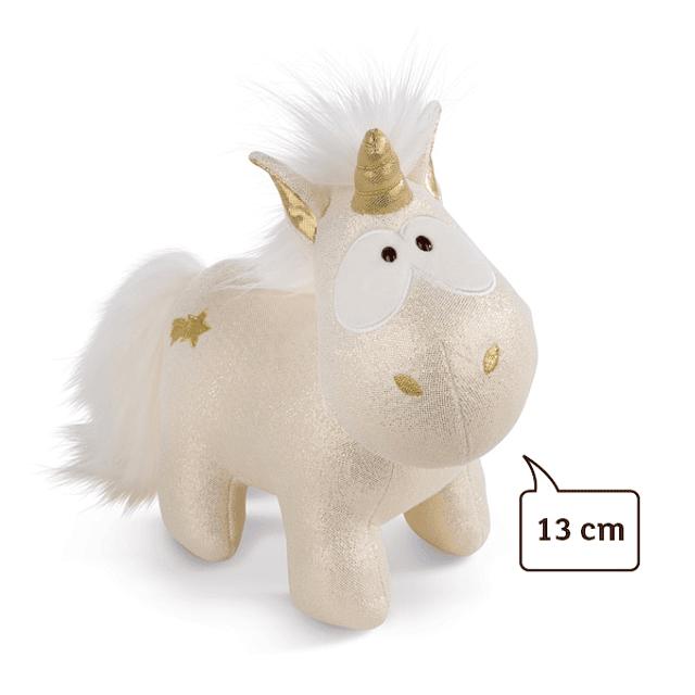Unicornio estrella fugaz, felpa de 13 cm