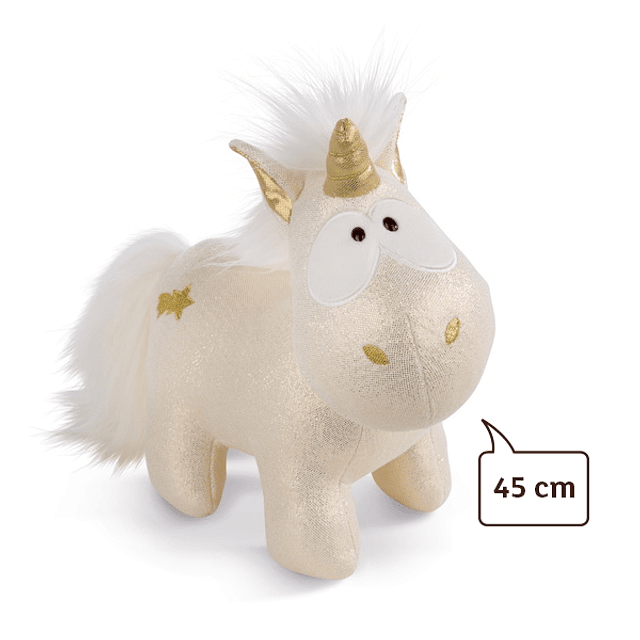 Unicornio estrella fugaz, felpa de 45 cm