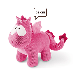 Peluche Unicórnio-Dragão Rubi de la Rosa, 32cm