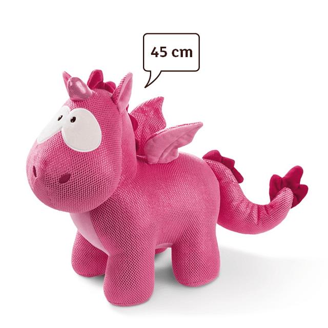 Peluche Unicornio-Dragón Ruby de la Rosa, 45cm