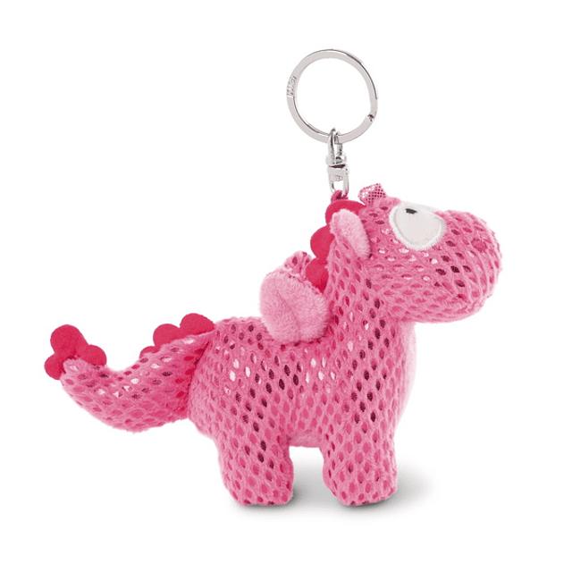 Peluche Unicornio-Dragón Ruby de la Rosa, 10cm