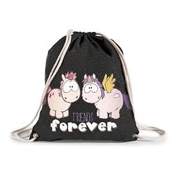 "Unicorn Cloud Dreamer Sports Bag ""Friends Forever"""