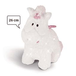 Unicorn Baby Theolino Sitting, 26cm Teddy