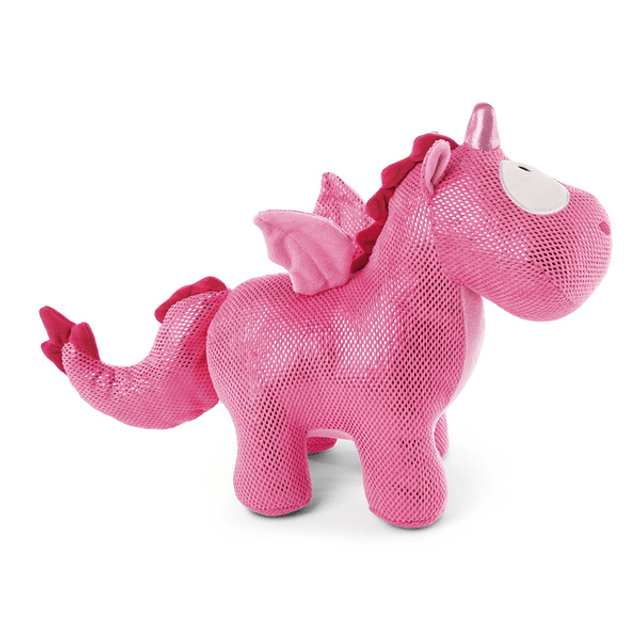 Plush Unicorn-Dragon Ruby de la Rosa, 32cm