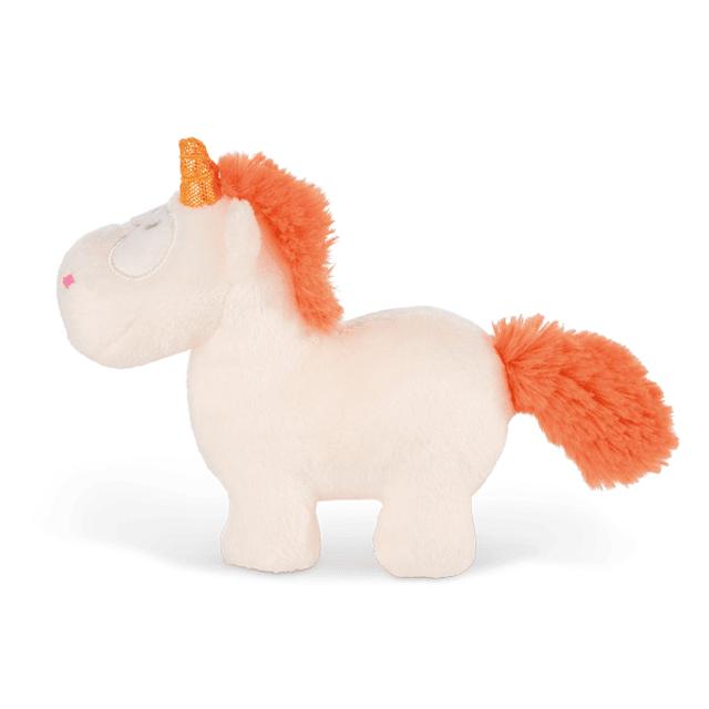 Orange Unicorn, 13cm Teddy