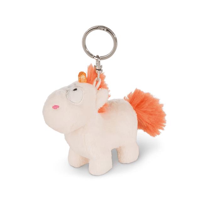 Orange Unicorn Keyring