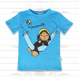 "Camiseta para niños Blue Jolly Bob ""Enjoy Your Life"""