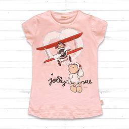 Kids T-Shirt Pink Jolly Sue