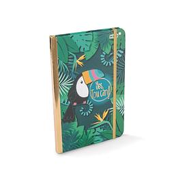 Cuaderno de tapa dura Tucano