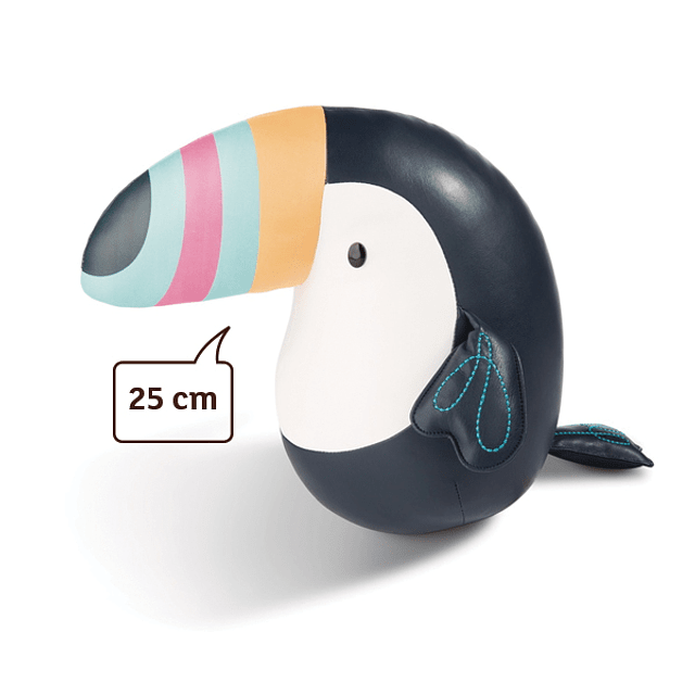 Toucan, In 25cm Synthetic Leather