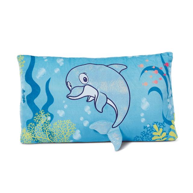 Del-Finchen Dolphin Rectangular Cushion