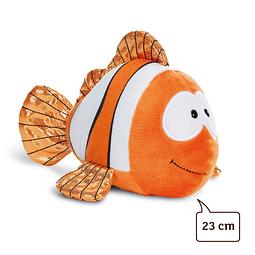 Pez payaso Claus-Fisch, peluche de 23 cm