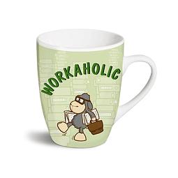 """""""Workaholic"""" mug"""