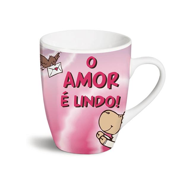 """Caneca """"O Amor é Lindo!"""""""
