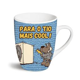 """Caneca """"Para o Tio Mais Cool!"""""""