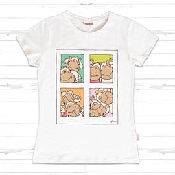 T-Shirt Mulher Banda Desenhada Jolly