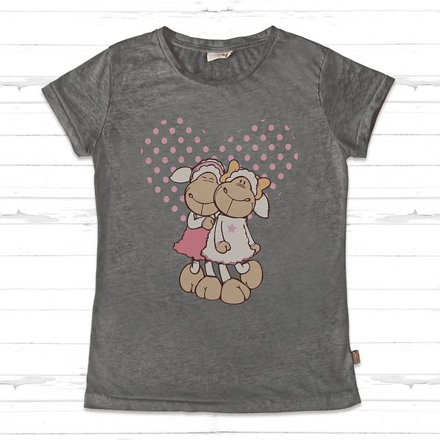 T-Shirt  Mulher Cinza Jolly