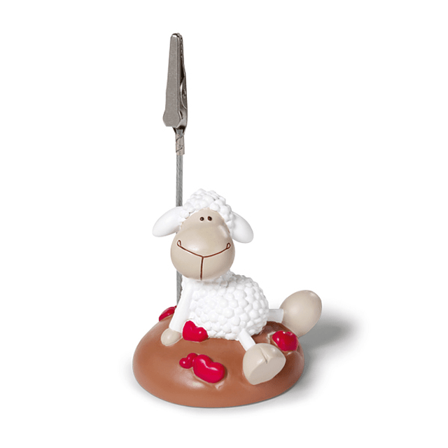 Sheep With Hearts Photo Frame