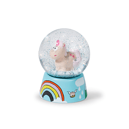 Theodor Unicorn Water Globe